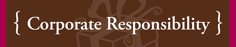 Corporate Responsibility Banner