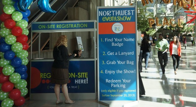Pro Tips for Exhibitors at the Northwest Event Show Part 1 of 2