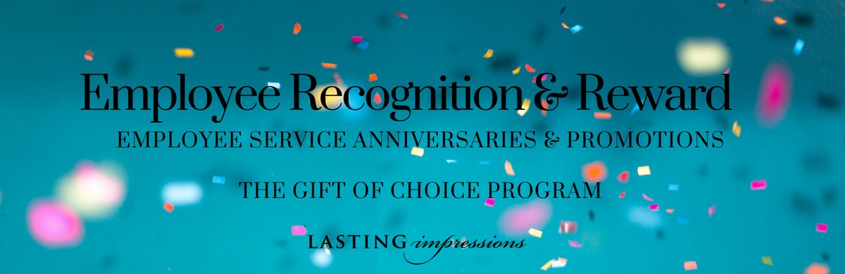 Service Anniversary Awards:  Give the Gift of Choice