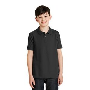 Port Authority® Youth Silk Touch™ Polo Shirt