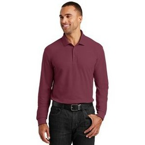 Port Authority® Long Sleeve Core Classic Pique Polo Shirt