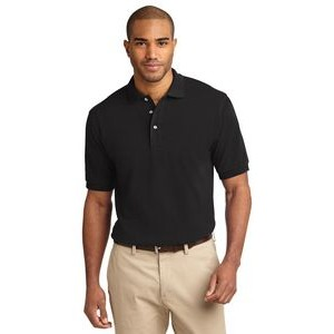 Port Authority® Tall Heavyweight Cotton Pique Polo Shirt