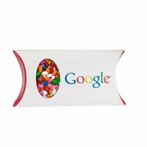 Pillow Box with Window - Chocolate Sunflower Seeds (Gemmies®)
