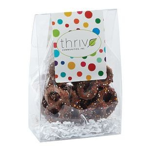 Classic Treat Tote w/ Chocolate Sprinkled Pretzels