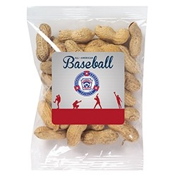 Ball Park Snack Bag - Peanuts in the Shell (3 Oz.)
