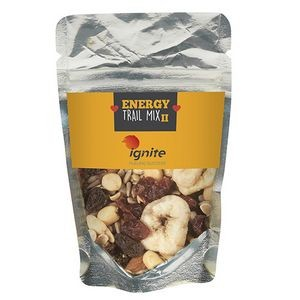 Resealable Clear Pouch w/ Energy Trail Mix II