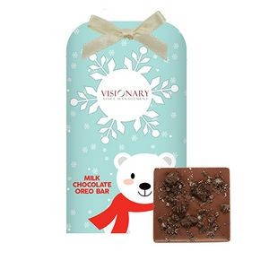 Belgian Chocolate Bar Stocking Stuffer w/ Oreo® Cookies