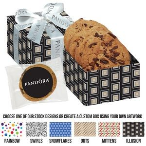Gala Gift Box w/ 3 Chocolate Chunk Cookies