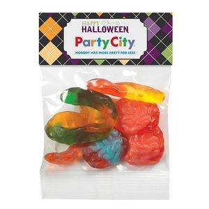 Haunted Header Bag w/ Witches Brew Gummy Mix (1 Oz.)