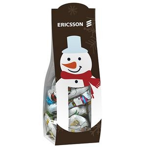 Candy Desk Drop w/ Chocolate Snowman(Large)