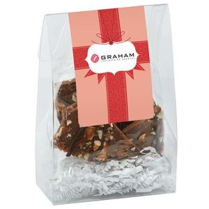 Classic Treat Tote w/ Milk Chocolate Toffee Pretzel Bark (4.5oz)