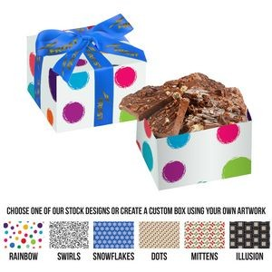 Gift Box w/ Milk Chocolate Toffee Pretzel Bark (6.5 oz)