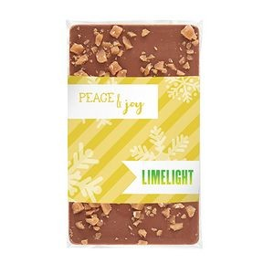 1 oz Contemporary Belgian Chocolate Bar w/ Toffee