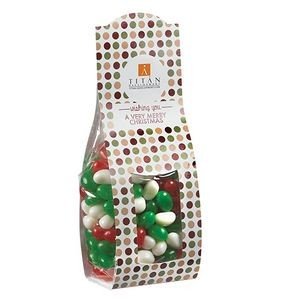 Candy Desk Drop w/ Holiday Gourmet Jelly Beans (Large)