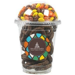 Snack Cup Duo w/ Chocolate Covered Pretzels & Reese's Pieces®
