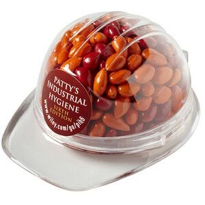 Hard Hat Container - Chocolate Covered Sunflower Seeds (Gemmies®)