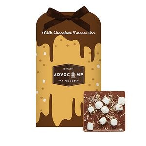 Belgian Chocolate Bar Stocking Stuffer w/ S'mores