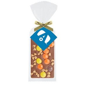 Belgian Chocolate Bar Gift Bag - Reese's® Pieces & Peanut Butter Chips