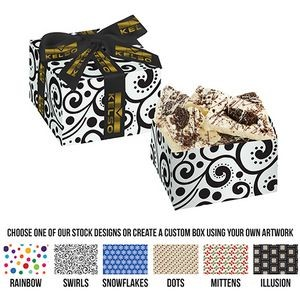 Gift Box w/ White Chocolate Oreo® Bark (6.5 oz)