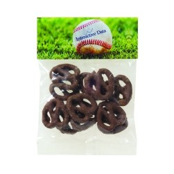 Chocolate Pretzels in Header Bag (1 Oz.)