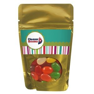 Resealable Window Pouch w/ Assorted Jelly Beans