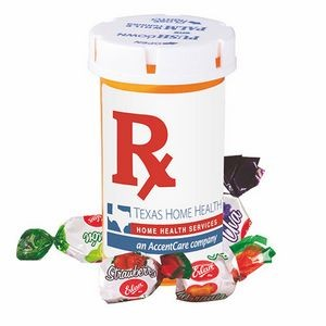 Large Pill Bottle - FRUIT BON BONS
