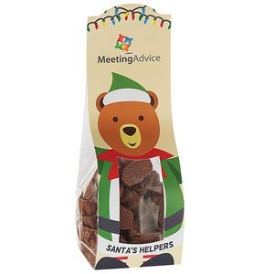 Candy Desk Drop w/ Milk Chocolate Gummy Bears (Large)