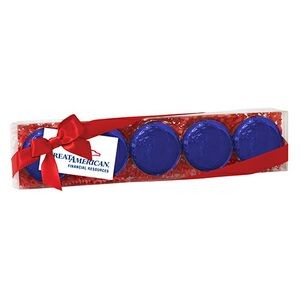 Elegant Chocolate Covered Oreo® Gift Box - Foil Wrappers (5 pack)