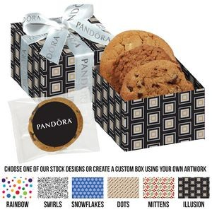 Gala Gift Box w/ 3 Assorted Cookies