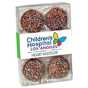 Chocolate Covered Oreo® Gift Box - Rainbow Sprinkles (6 pack)
