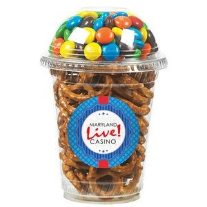 Snack Cup Duo w/ Salted Pretzels & M&M's®