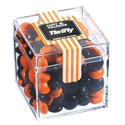 Creepy Candy Box w/ Halloween Chocolate Buttons