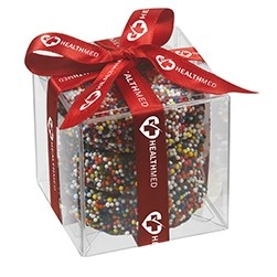 Chocolate Covered Oreo® Present w/ Rainbow Nonpareils