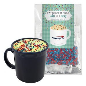 Mug Cake Tote Box - Corporate Color Cake