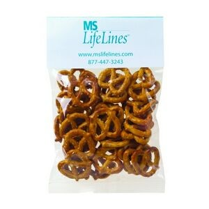 Mini Pretzels in Header Bag (2 Oz.)