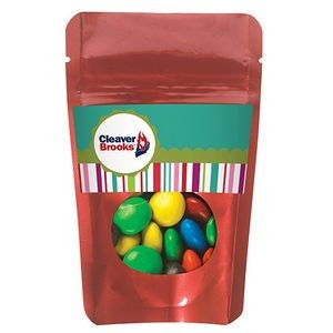 Resealable Window Pouch w/ M&M's®