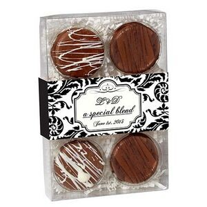 Chocolate Covered Oreo® Gift Box - Chocolate Drizzle (6 pack)