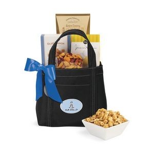 Piccolo Grab N' Gourmet Treats Tote Black