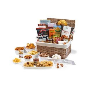 Gourmet Delights Keepsake Basket Natural