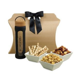 Bali Retreat & Relax Treats Tote Black-Natural