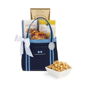 Piccolo Grab N' Gourmet Treats Tote Blue-Navy
