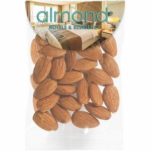 Circular Top Snack Bag - Raw Almonds