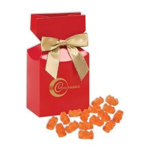 Prosecco Gummy Bears in Red Gift Box