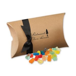 Gummy Bears in Kraft Pillow Pack Box