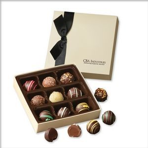 Chocolate Elegance with Assorted Truffles
