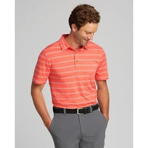 Forge Polo Heather Stripe Tailored Fit