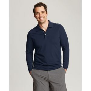 Cutter & Buck DryTec Long Sleeve Advantage Polo